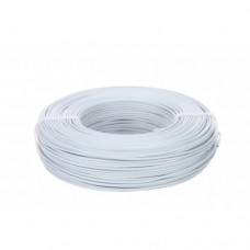 Aluminiumdraad 2mm wit 60m